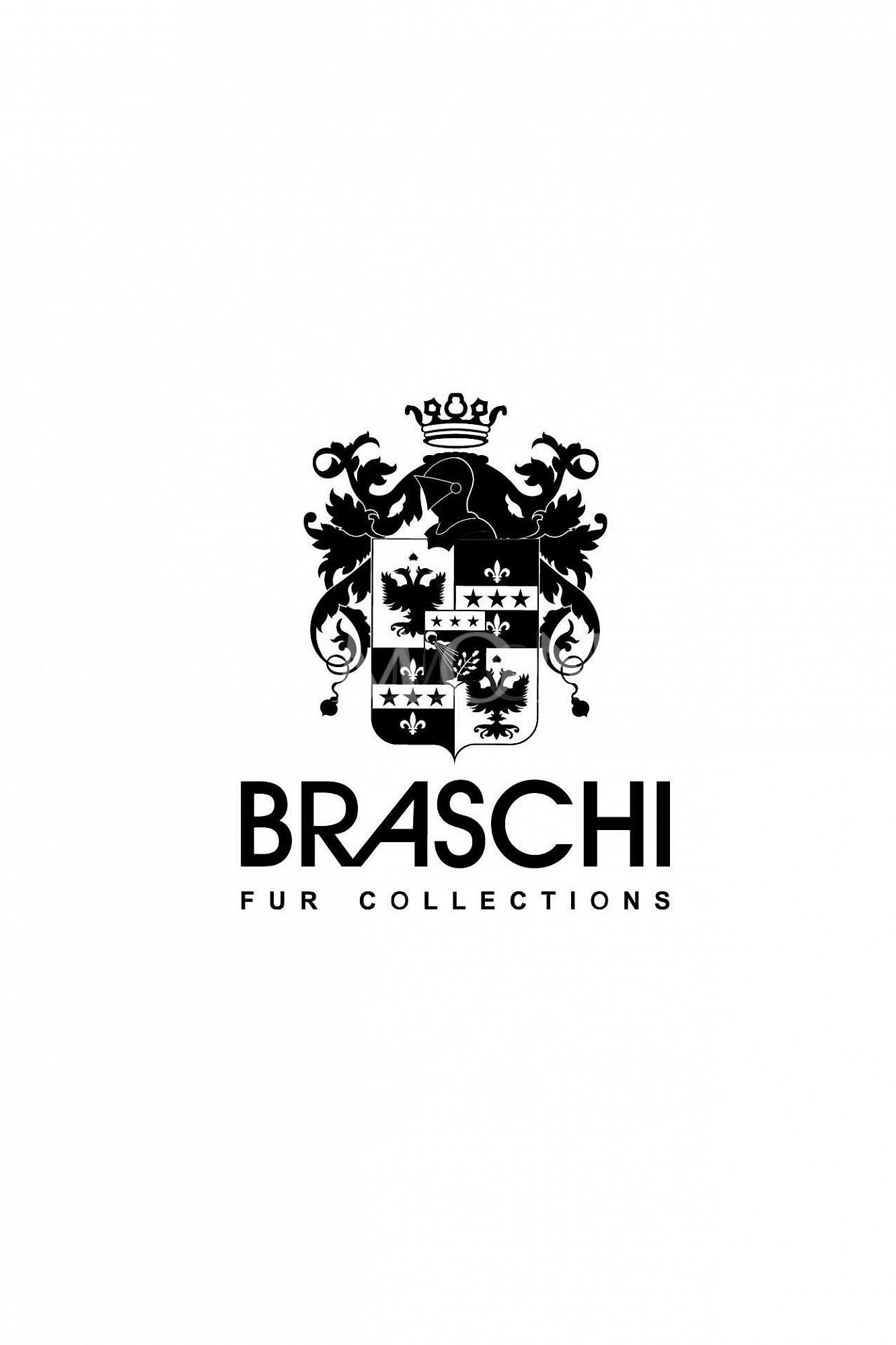 Норковая шуба Braschi Black Nafa 170