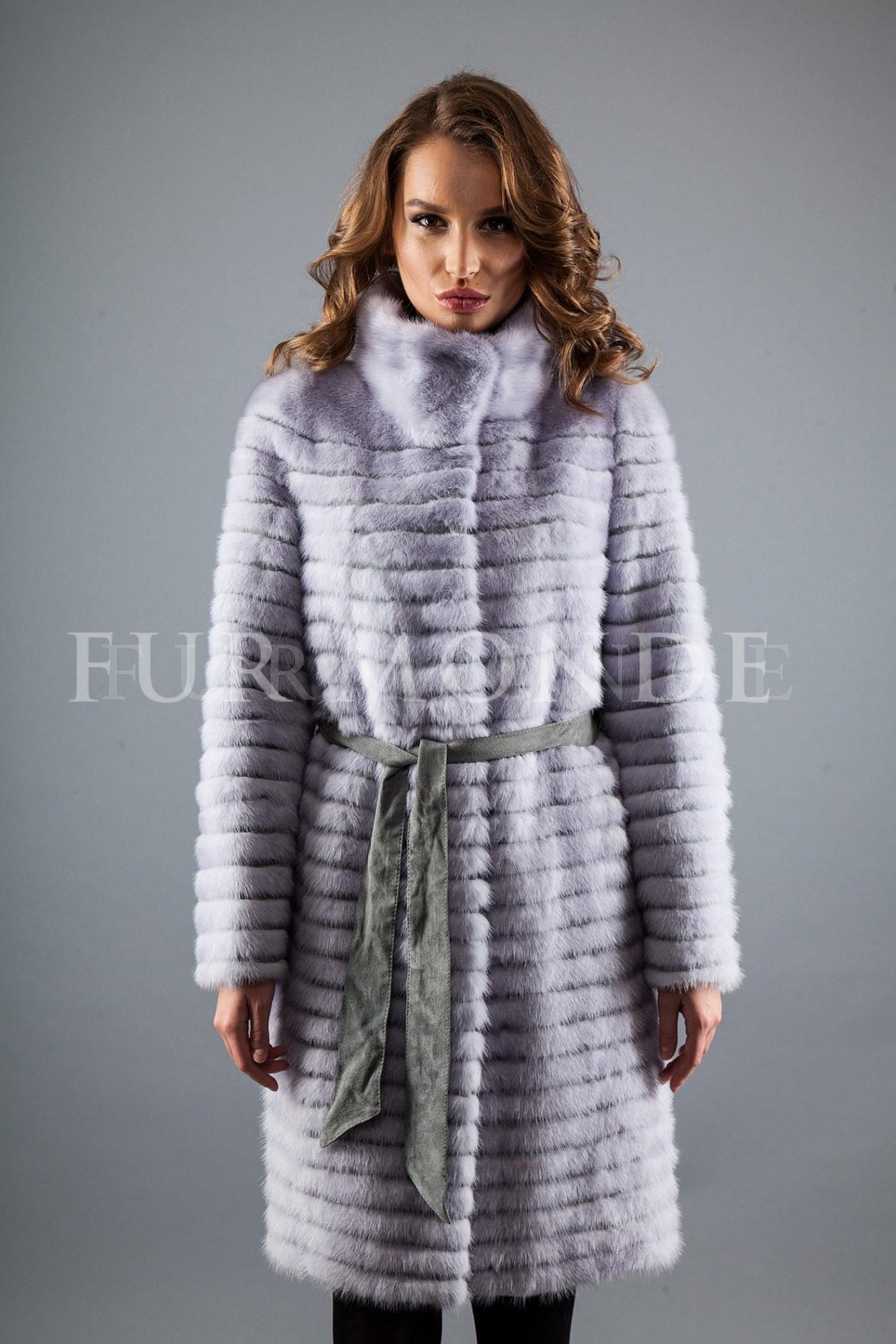 Пальто из меха норки 725-250